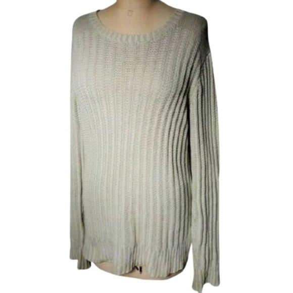 ALL SAINTS Spitalfields wide knit chunky sweater